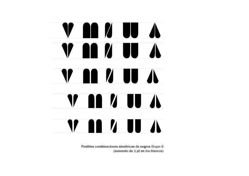 Tipográfico. Catálogo de blancos y negros  34