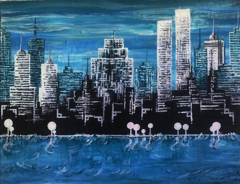 Cuadro: New York, NY -1