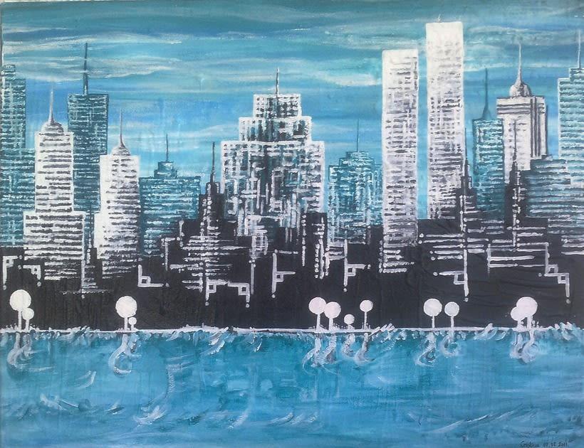 Cuadro: New York, NY 0