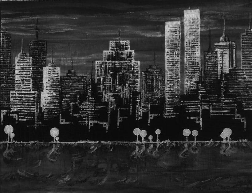 Cuadro: New York, NY 1