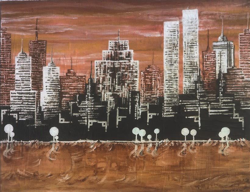 Cuadro: New York, NY 3