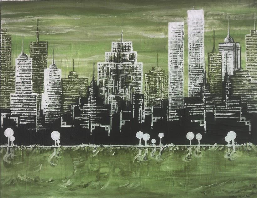 Cuadro: New York, NY 5