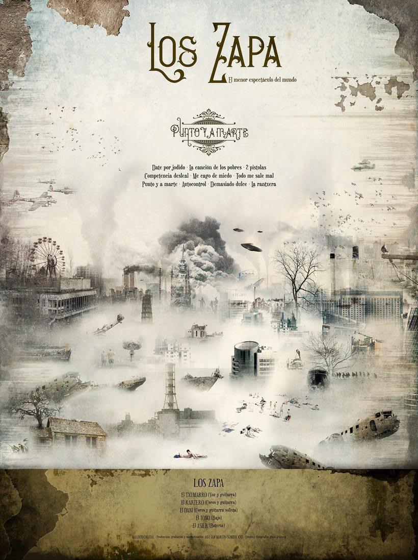 LOS ZAPA - PUNTO Y A MARTE 7