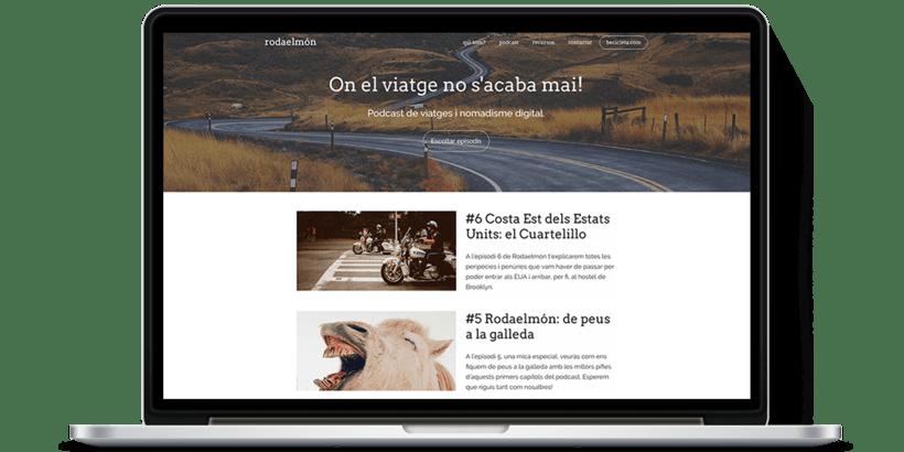 Diseño y desarrollo WordPress para Rodaelmón | Jordi Garcia Codina 0