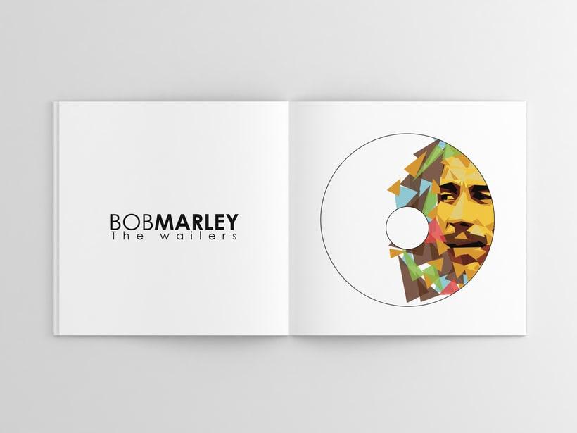 Libro/Disco Bob Marley -1