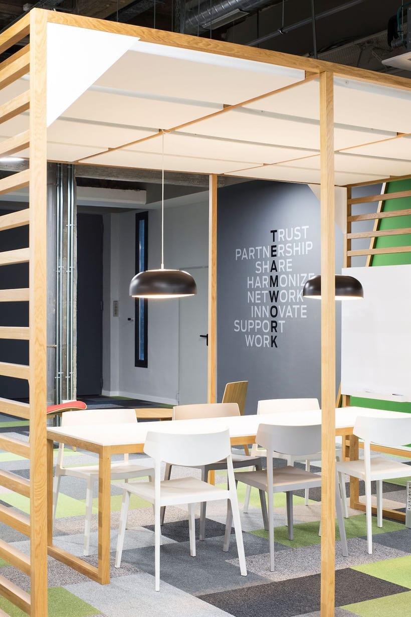 Fotografía de Interiores: Oficinas Reig Jofre 2