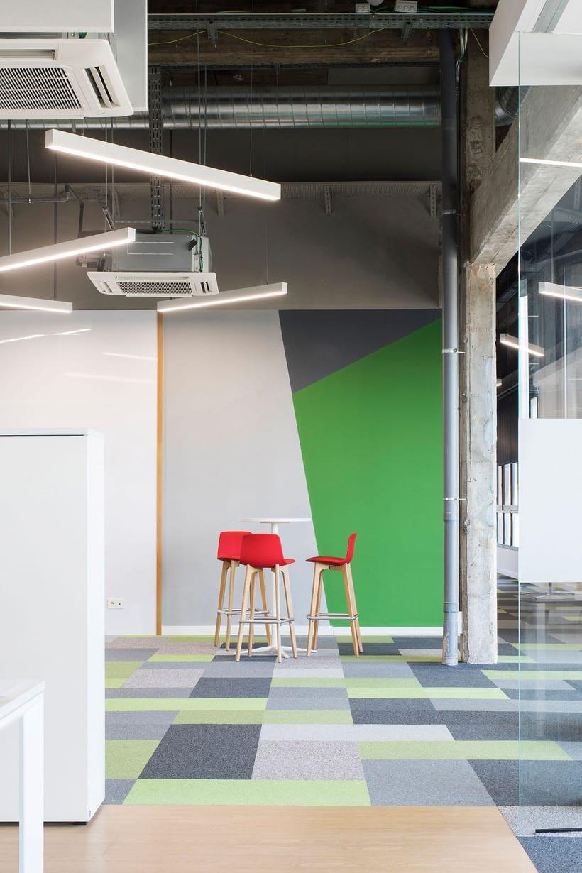 Fotografía de Interiores: Oficinas Reig Jofre 1