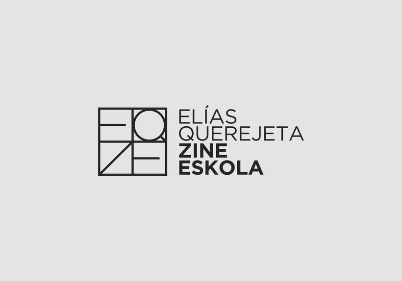 Identidad Corporativa de Elías Querejeta Zine Eskola 0