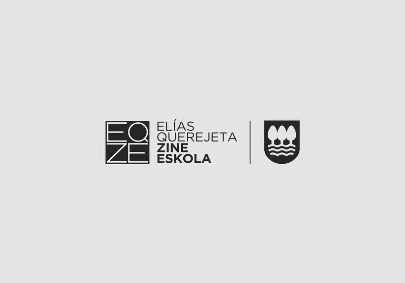Identidad Corporativa de Elías Querejeta Zine Eskola 1