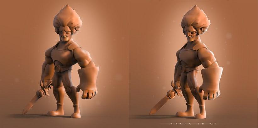 Fan art Leon o Thundercats (es un avance aun no esta terminada la pieza)  0