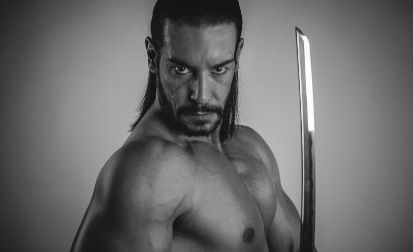 El Samurai ( recreación de un guerrero ) 0