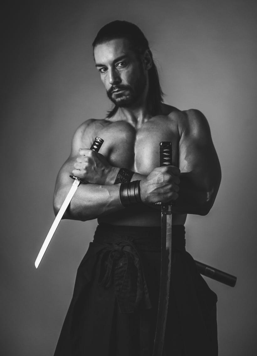 El Samurai ( recreación de un guerrero ) 1