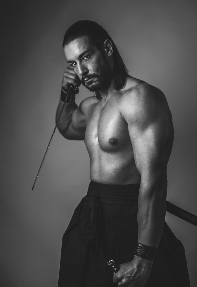 El Samurai ( recreación de un guerrero ) 2