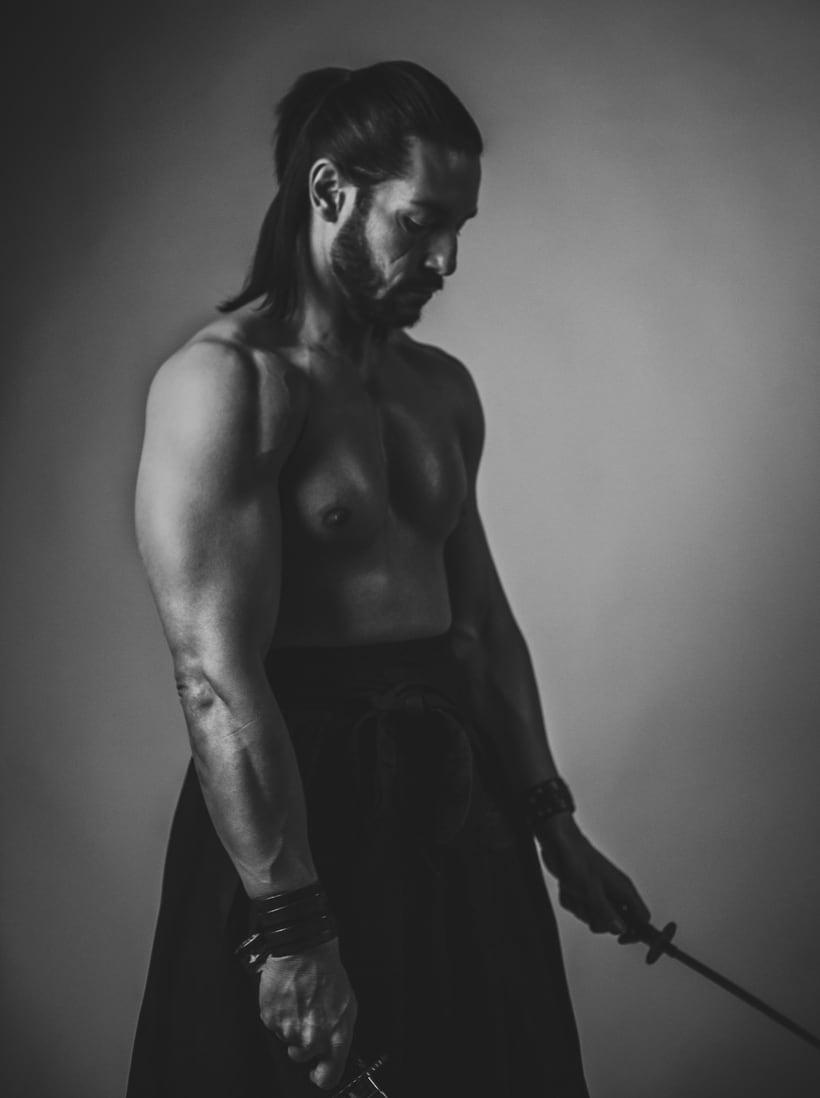 El Samurai ( recreación de un guerrero ) 3