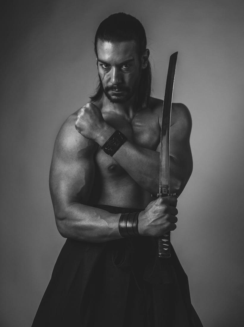 El Samurai ( recreación de un guerrero ) 4