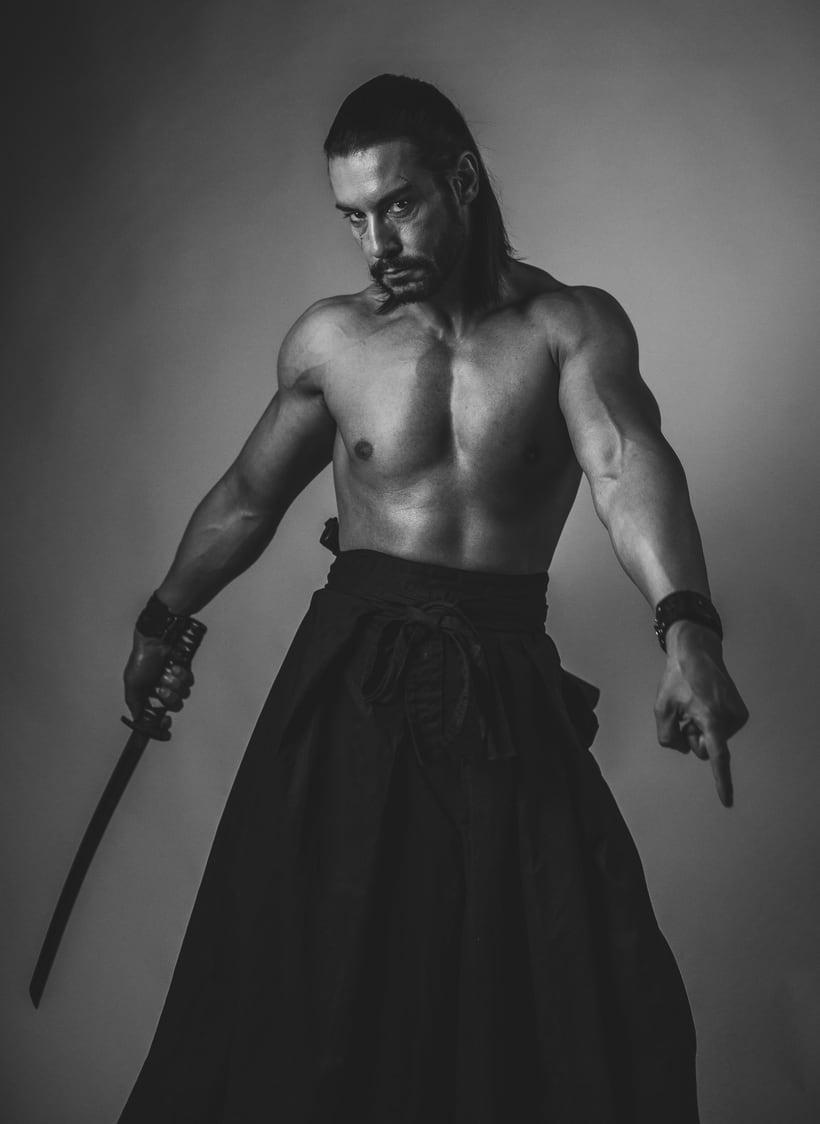 El Samurai ( recreación de un guerrero ) 5