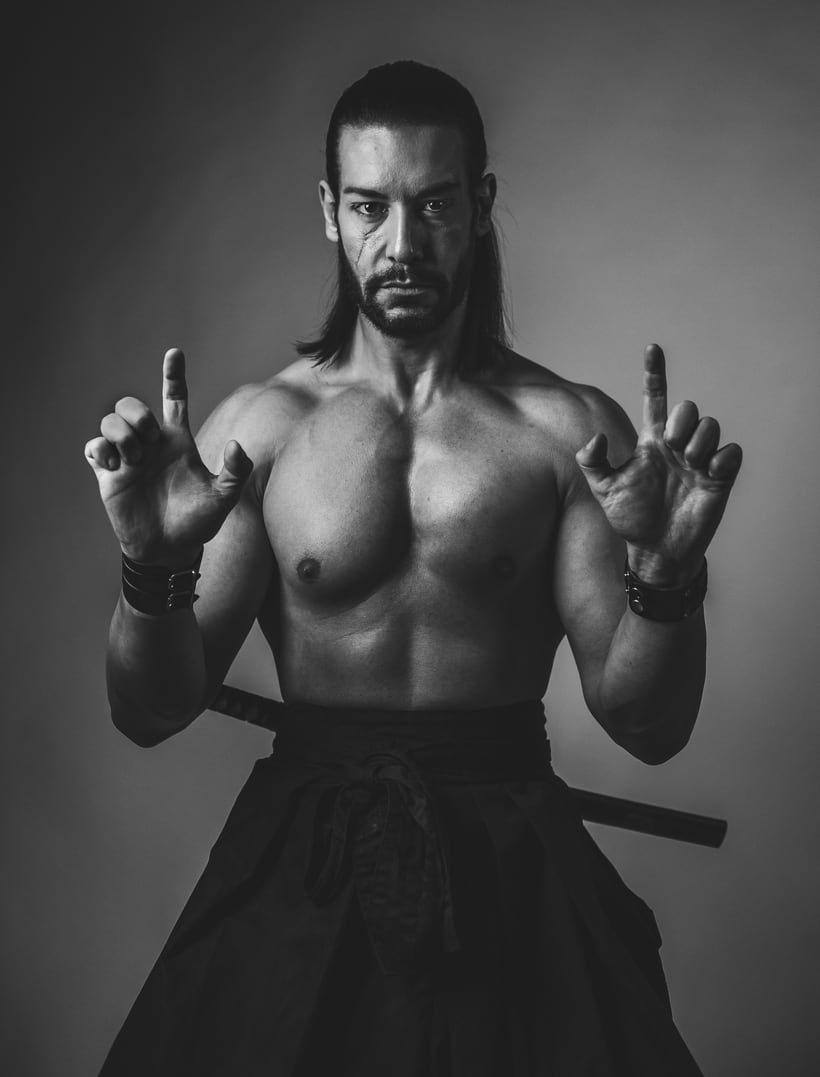 El Samurai ( recreación de un guerrero ) 6
