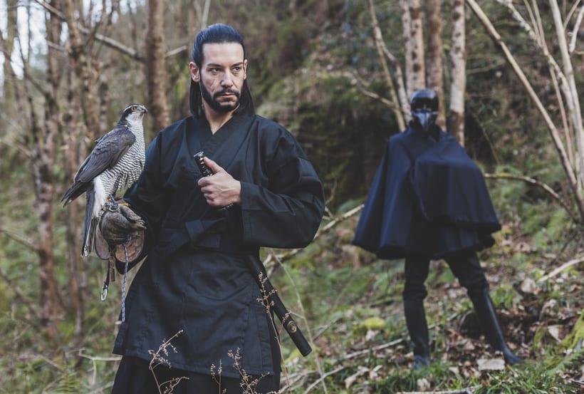 El Samurai ( recreación de un guerrero ) 7