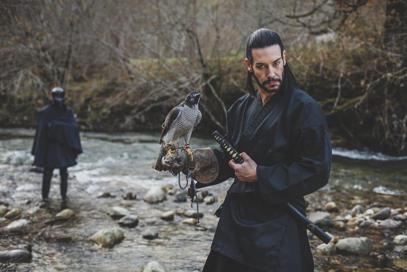 El Samurai ( recreación de un guerrero ) 9