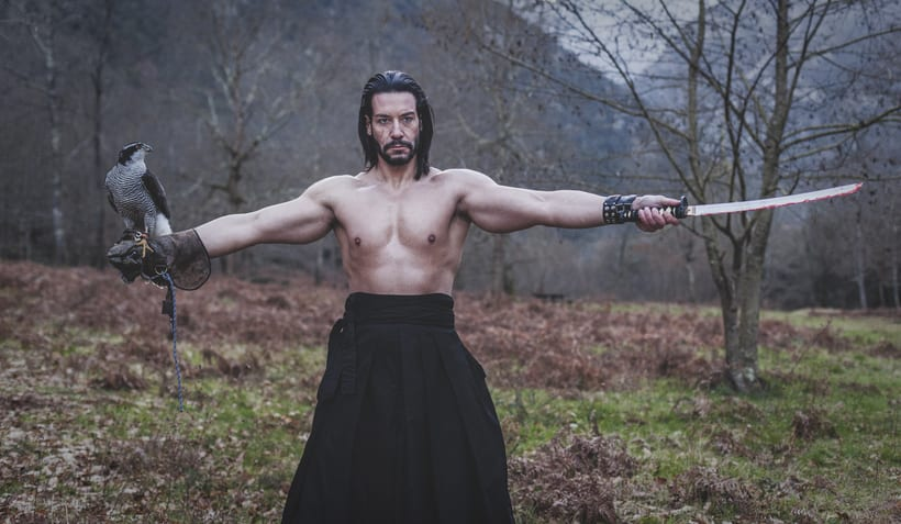 El Samurai ( recreación de un guerrero ) 10