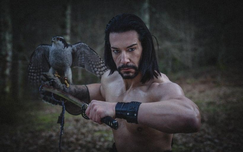 El Samurai ( recreación de un guerrero ) 11