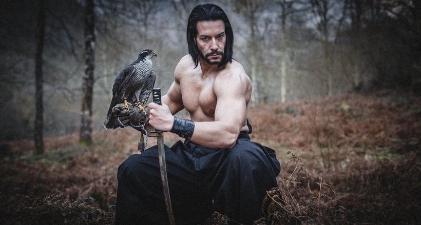 El Samurai ( recreación de un guerrero ) 12