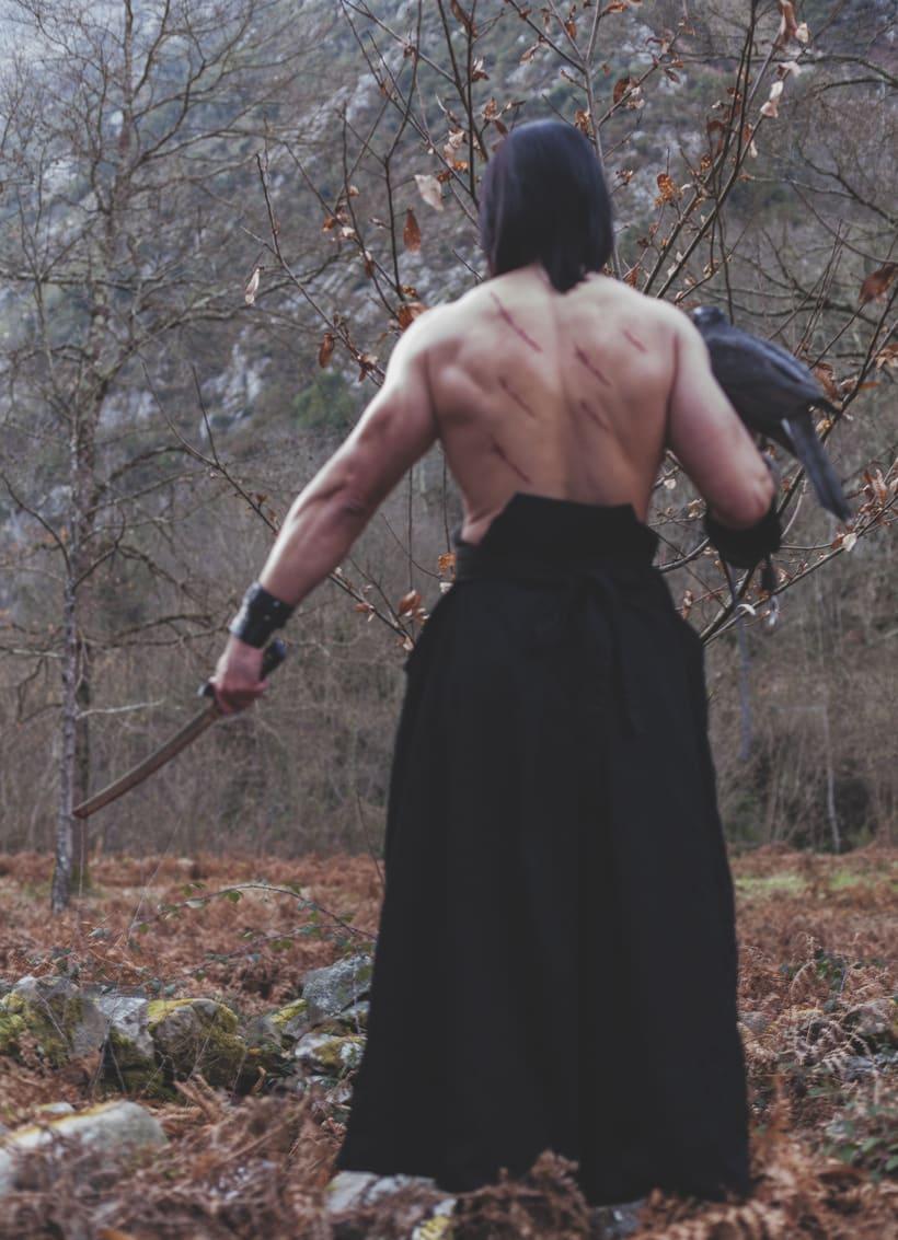 El Samurai ( recreación de un guerrero ) 13