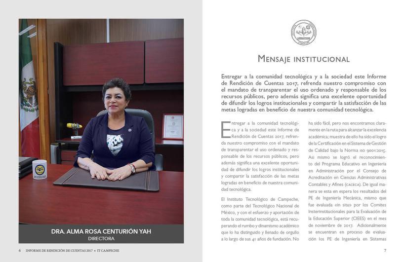 Mi Proyecto del curso: Ejemplo de Informe de Rendición de Cuentas 4