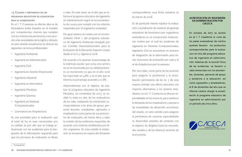 Mi Proyecto del curso: Ejemplo de Informe de Rendición de Cuentas 11