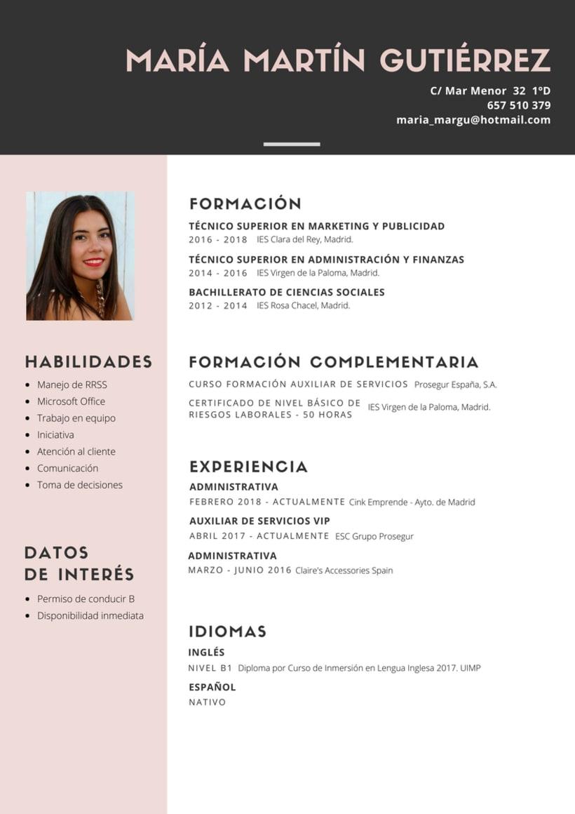 Currículum(s) 1