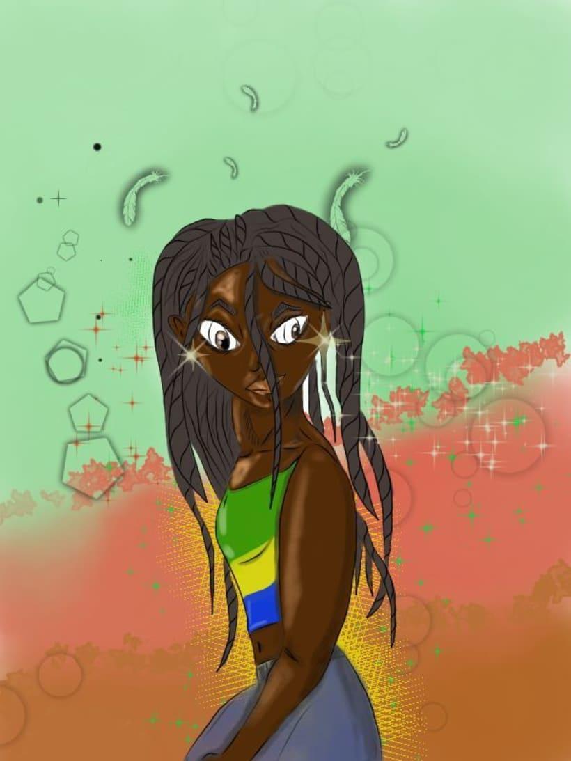 Diosa de Ébano -1