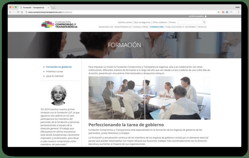 Fundación Compromiso y Transparencia 1