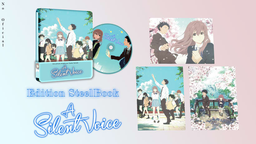 Edicion Steelbook  A silent voice (No Oficial) -1