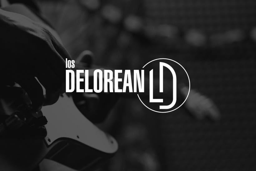 Logotipo - Los Delorean -1