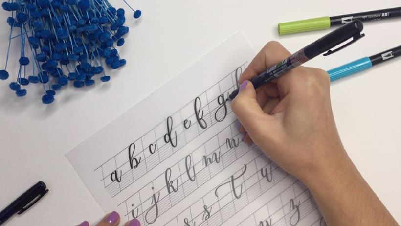 Cursos de Caligrafía Moderna y Lettering con Rotulador en Madrid 2