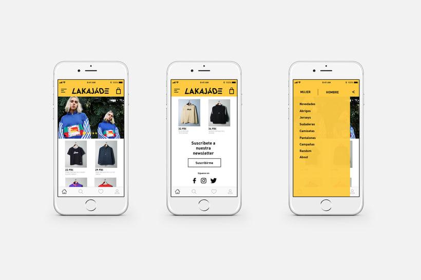 Interfaz iOS app 1