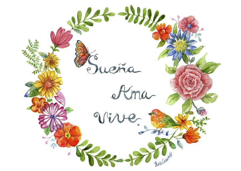 Mi Proyecto del curso: Rosetón de flores 1
