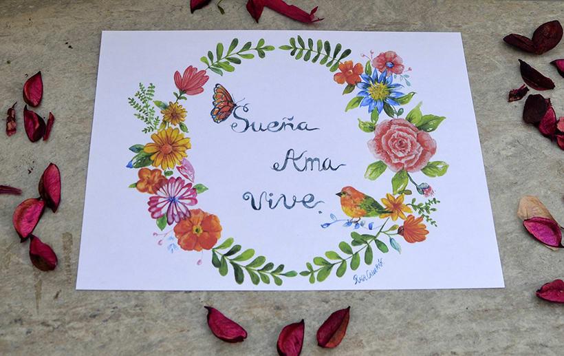 Mi Proyecto del curso: Rosetón de flores 2
