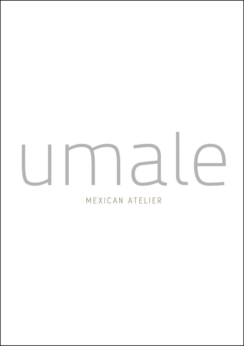 Umale. Joven empresa alemana que diseña productos textiles de alta calidad, típicos y modernos, los cuales son producidos en México por manos de artesanos Oaxaqueños. Yo estoy trabajando de lleno para poder hacer su branding, fotos, diseños, etc.  0