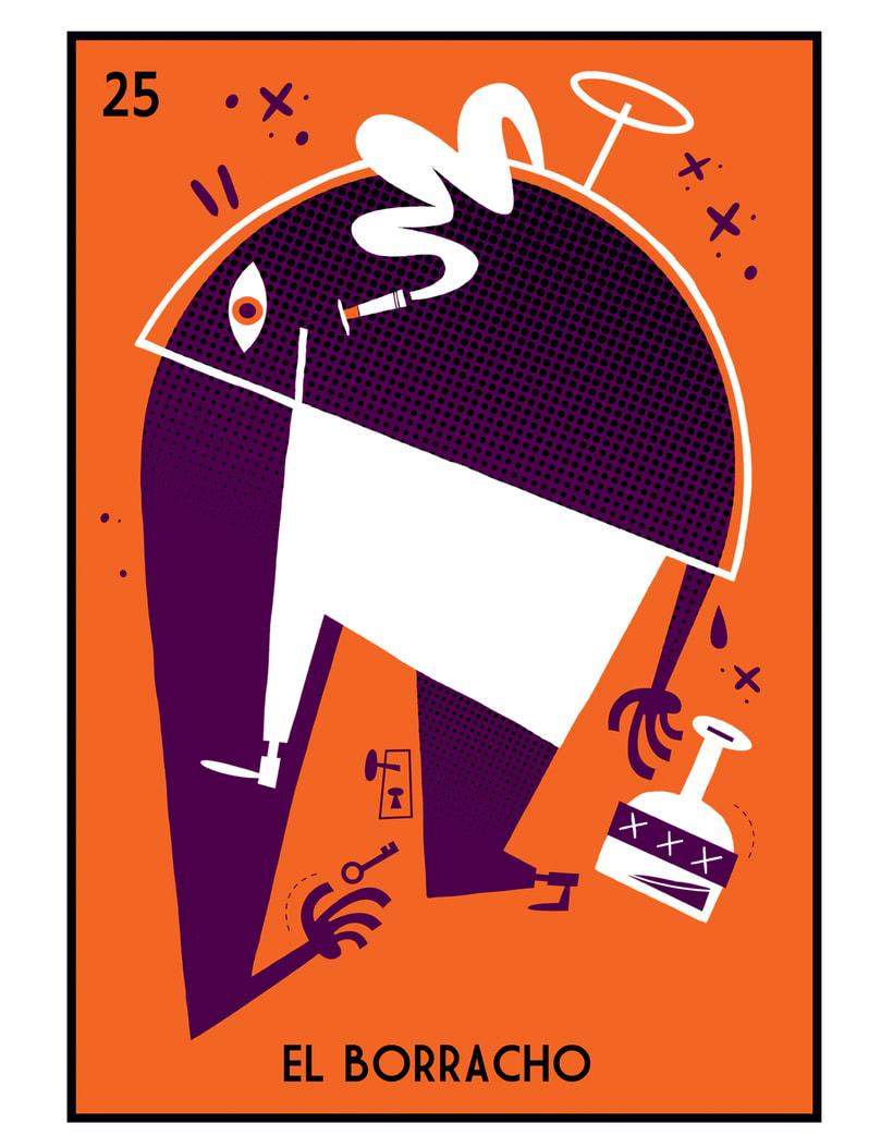 Lotería Mexicana, un homenaje ilustrado. -1