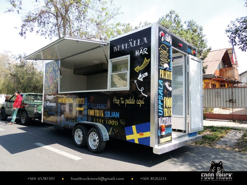 BJÖRN BURGER Food Truck // Diseño de imagen corporativa y rotulación de food truck 2