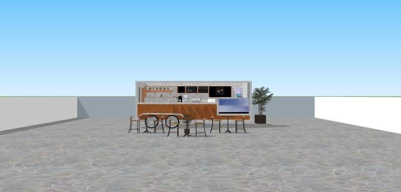 RITUAL Cafetería Food truck // Propuestas en 3D 0