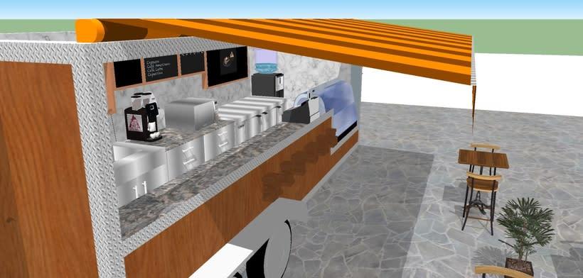 RITUAL Cafetería Food truck // Propuestas en 3D 5