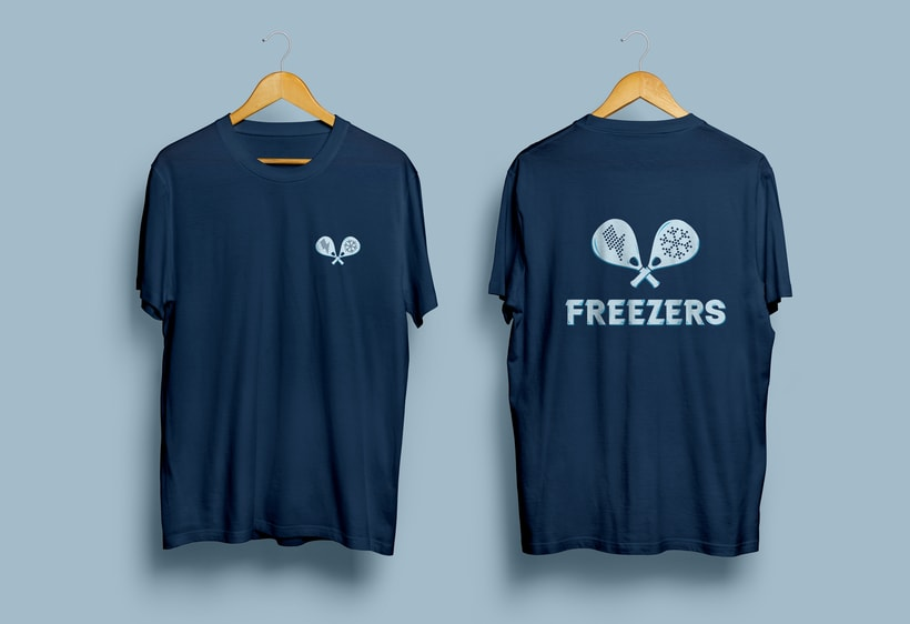 Logo e identidad - THE FREEZERS 3
