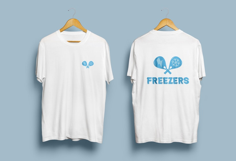Logo e identidad - THE FREEZERS 4