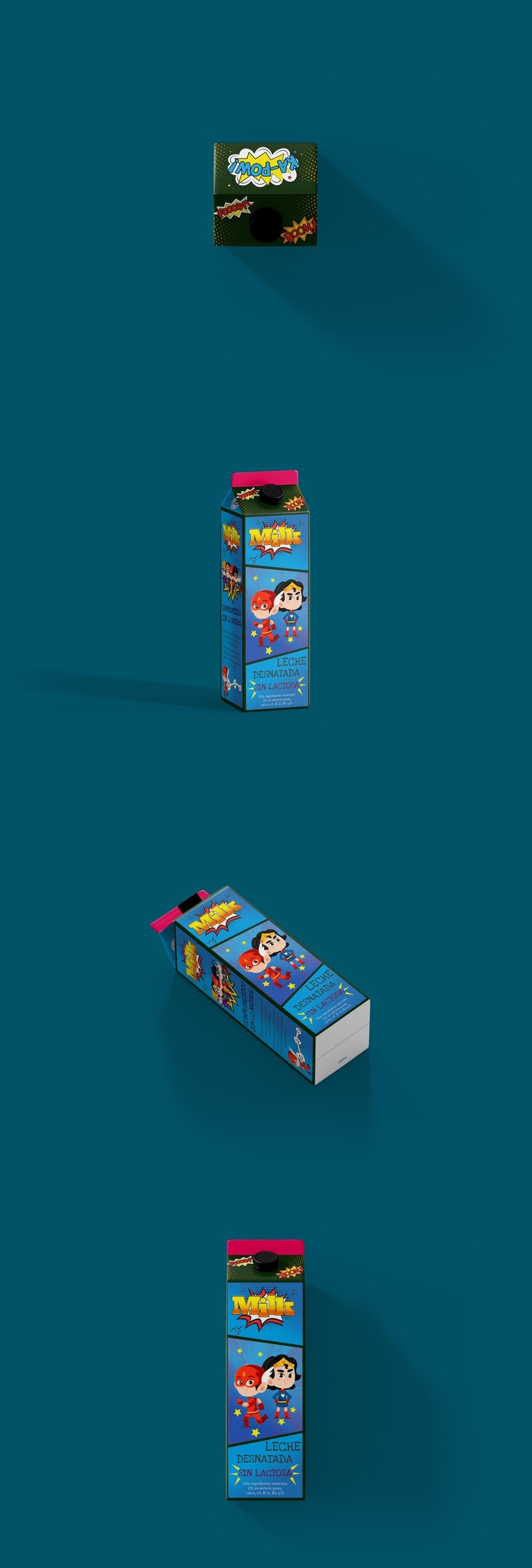 Packaging Milk Superheroes 2