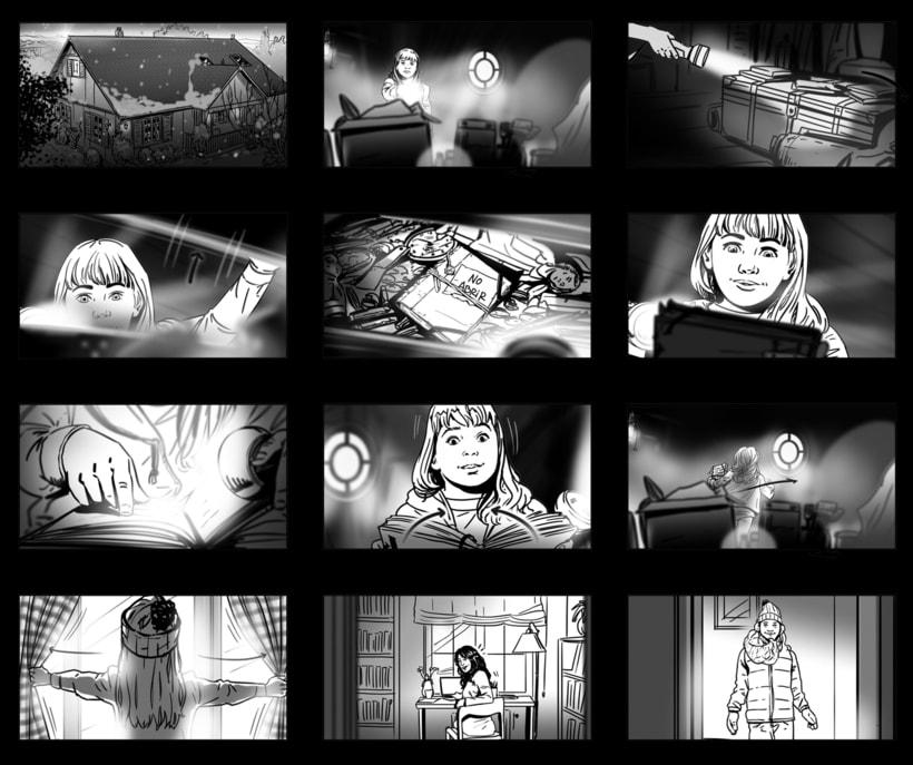 Shooting Board - BBVA 'Una historia de navidad' (Ad) 1