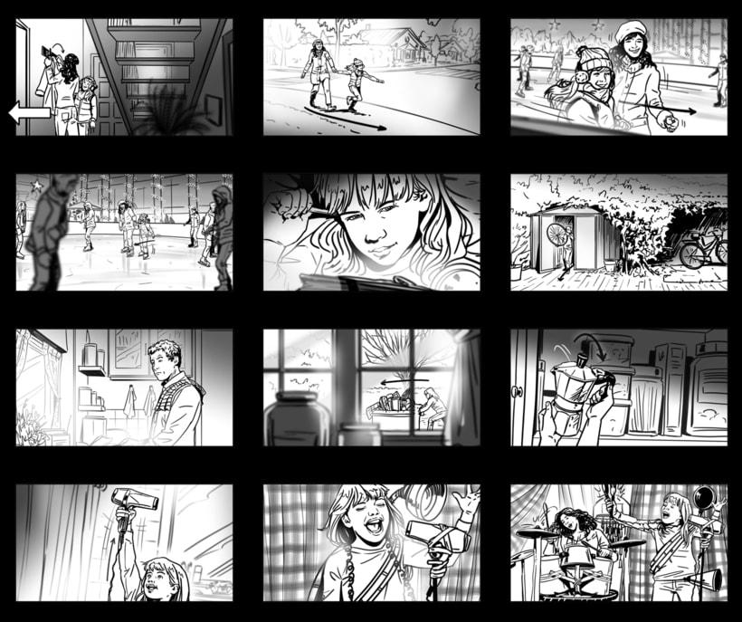 Shooting Board - BBVA 'Una historia de navidad' (Ad) 2