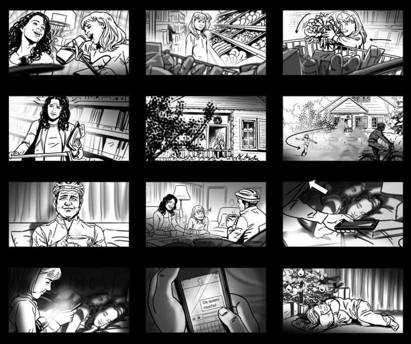 Shooting Board - BBVA 'Una historia de navidad' (Ad) 3