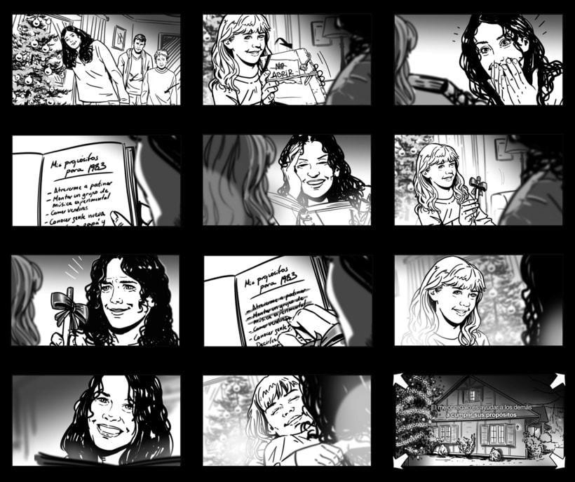 Shooting Board - BBVA 'Una historia de navidad' (Ad) 4